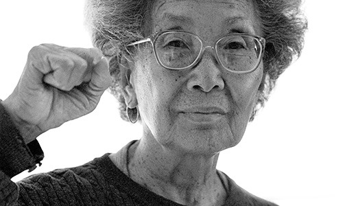 Kochiyama is well known for her liberation support work for political prisoners and reparation advocacy for Japanese Americans who were in internment camps.